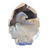 Mats Jonasson Crystal Sculpture Full Lead Sweden