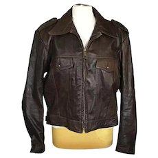 Harley Davidson Brown Leather Jacket