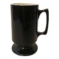 Set of 5 Hall Coffee Bistro  MugS  Black with White Interior