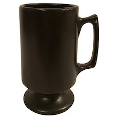 Matte Black Bistro Mug