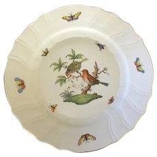 Herend Rothschild Bird Dinner Plate