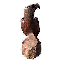 Hand Carved Ironwood Eagle