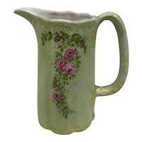 Hand Painted Pitcher signed