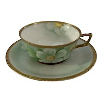 Richard Ginori Turn of the Century Handpainted Teacup