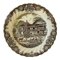Johnson Brothers set of 8 Heritage Hall Dinner Plates