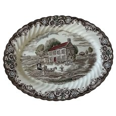 Johnson Brothers Heritage Hall 12 inch Platter