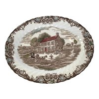 Johnson Brothers Heritage Hall 12 inch Platter