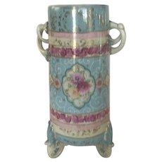 Large Pastel Japanese Vase pre- 1890