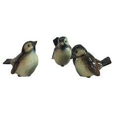 Set of 3 Goebel Porcelain Birds