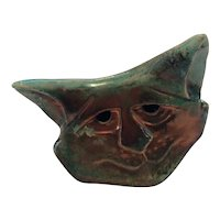 Eleanor Malonik Cat Sculpture Signed and Dated