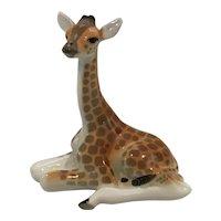 Lomonosov Porcelain Giraffe Made in USSR