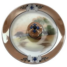 Noritake Japanese Lustreware Dish with Handle