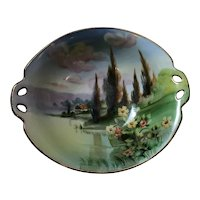 Nippon Hand Painted Landscape Bowl