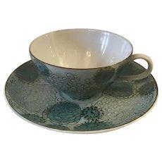 Japanese Porcelain Teacup and Saucer