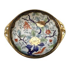 Hand Painted Nippon Bowl with Wonderful Art Nouveau Design