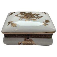 Bavarian Porcelain Trinket Box