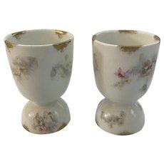 2 Limoges Egg Cups