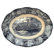 Enoch Wedgwood Staffordshire Liberty Blue