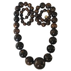 Mississippi Mud Bead Necklace