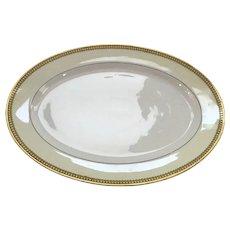 """Large Charles Haviland & Co. Limoges France Art Deco Platter 13 3/4""""W x 10""""H"""