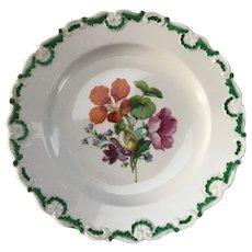 Meissen 8 1/2 inch Handpainted Salad or Luncheon Plate