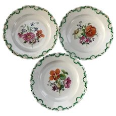 Meissen Hand Painted 8 1/2 inch Plate