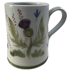 Buchan Thistle ware Mug Portabello Scotland