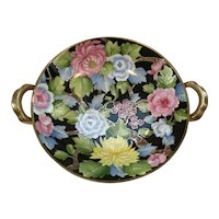 Nippon Hand Painted Bowl with Beautiful Floral Design