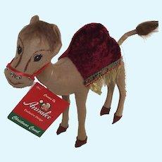 Annalee Christmas Camel Retired