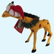 Annalee Christmas Giraffe