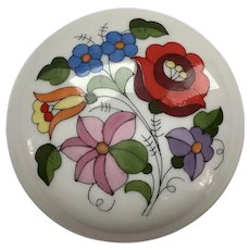 Kalocsa Handpainted Porcelain Box
