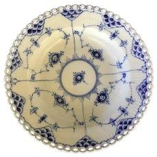 Royal Copenhagen Full Lace Rimmed Bowl