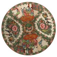 Rose Medallion Plates Set of 3