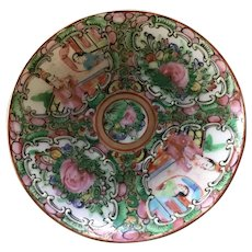 "Rose Medallion 4 3/8"" Saucer"