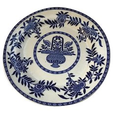 """Sterling Blue and Restuarant Ware 9"""" Plate"""