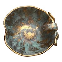 Stangl Apple Shaped Bowl in the Antique Gold Colorway