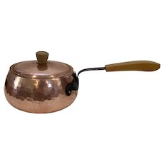 Stockli Nestal Hammered Copper Pan
