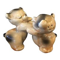 Vantellingen Bear Hug Salt and Pepper Shakers
