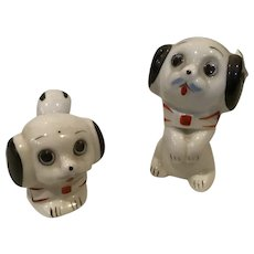 Puppy Dogs Salt and Pepper Shakers