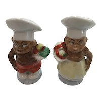 Chef Couple Salt and Pepper Shakers