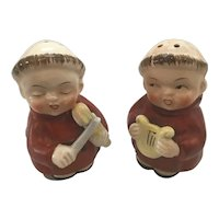 Set of Benedictine Monks Salt and Pepper Shakers