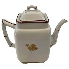 Alfred Meakin Tea Leaf Coffee Pot