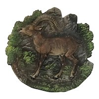 Cold Painted Vienna Bronze Of a Gazelle