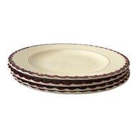 Vernon Kilns Monterey set of 4 plates