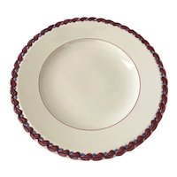 Vernon Kilns Monterey Chop Plate