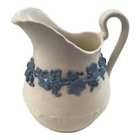 Wedgwood Queensware Pitcher Cream and Lavender