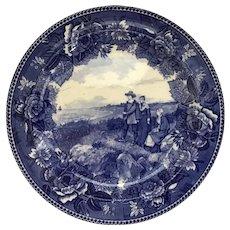 Wedgwood Pilgrim Exiles Plate