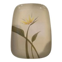 Winfield Pottery Bird of Paradise Medium Platter