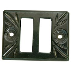 Vintage Art Deco Bakelite Belt Buckle