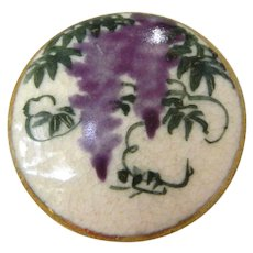 Vintage Antique Late 19th Century Satsuma Button